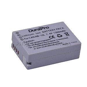 Bateria Canon NB-10L DuraPro 1300mAh 7.4V