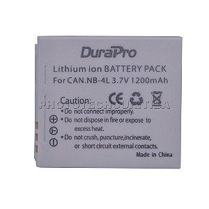 Bateria Canon NB-4L DuraPro 1200mAh 3.7V