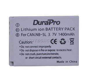 Bateria Canon NB-5L DuraPro 1400mAh 3.7V