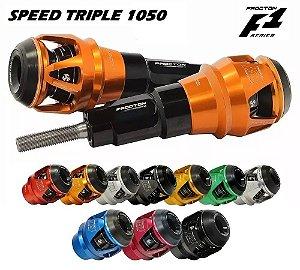 Slider Motor F1 Procton Racing Triumph Speed Triple 1050 2015 a 2017