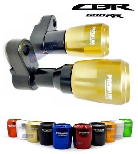 Slider Protetor Motor Premium Racing Honda CBR600RR 2007 a 2009