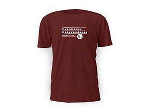Camiseta bordô República II