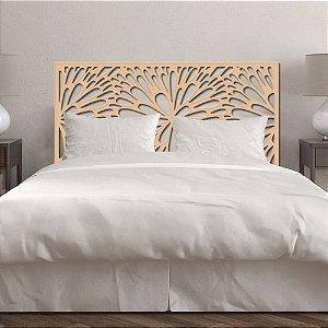 Cabeceira de cama Solteiro Dente de Leão 90x51cm - 9mm - MDF Natural (sem pintura)