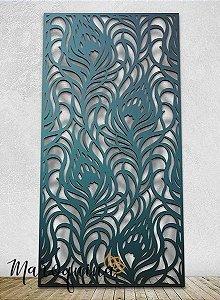 Painel Cobogó Linha Marrocos - WIND - 186 x 100 cm em mdf cru 18 mm