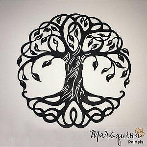 Mandala Árvore da Vida 48 cm em mdf cru