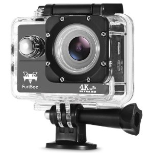 Câmera Esportiva Furibee F60 4k Wifi