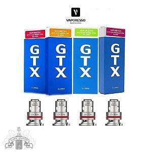 Resistência / Coil  GTX - Mesh / Regular / RBA - Vaporesso (VARIOS MODELOS)