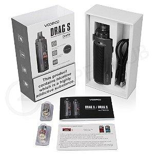 Kit Pod Mod Drag S 60w (Bateria Integrada 2500mAh) - Voopoo
