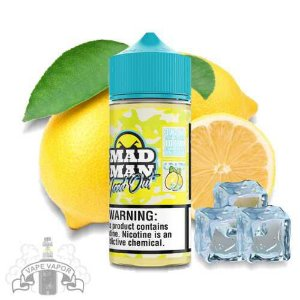 E-Liquido Crazy Lemon Ice (FreeBase) - Mad Man Iced Out