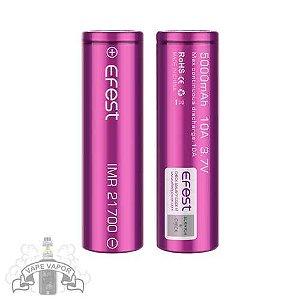 Bateria 21700 - 5000mAh 10A 3.7V - Efest
