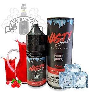 E-Liquido Bad Blood HIGH MINT (Nic Salt) - Nasty Juice