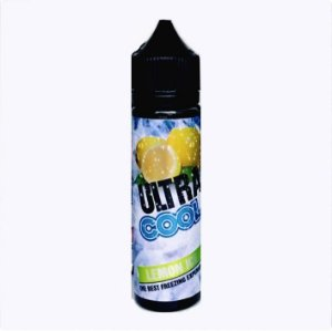 LIQUIDO ULTRA COOL - LEMON ICE - Free Base & Nic Salt