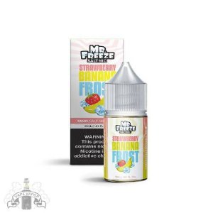 E-Liquido Straberry Banana Frost (Nic Salt) - Mr. Freeze