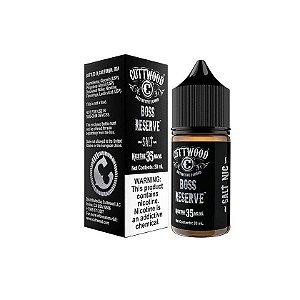 Líquido Boss Reserve - SaltNic / Salt Nicotine - Cuttwood®