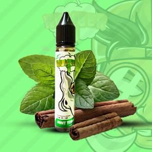 E-Liquido Mint Tobacco (FreeBase) - Number 1