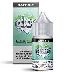 LÍQUIDO ICEBERG VAPORS NIC SALT -MULT MINT