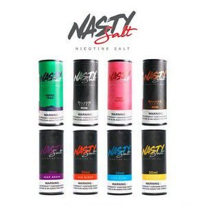 3 UNIDADES - LIQUIDO NASTY SALT - 3x30ML