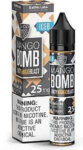 LÍQUIDO NIC SALT - MANGO BOMB JUICY MANGO BLAST (ICED) - VGOD