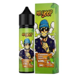 LIQUIDO STRAWBERRY COCONUT PINEAPPLE ICE - MR YOOP