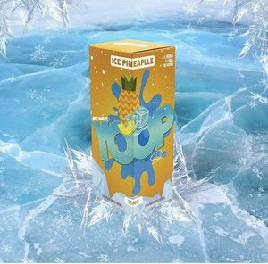 LÍQUIDO ICE PINEAPPLE NIC SALT - YOOP