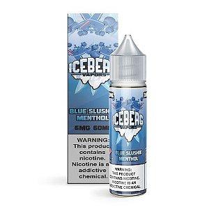LÍQUIDO FREE BASE BLUE SLUSHIE MENTHOL - ICEBERG