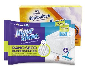 Kit Hiperclean vs Poeira