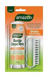 Limpa Tênis Amazon Bastão BL 100g
