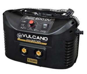 Fonte Inversora Eletrodo Revestido e TIG DC Vulcano Inverter 200 DV