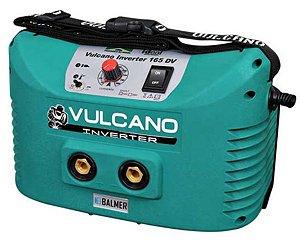 Fonte Inversora Eletrodo Revestido e TIG DC Vulcano Inverter 165 DV