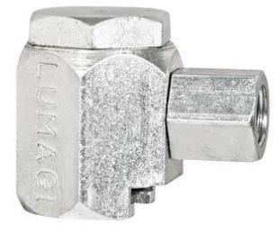 """Acoplador Hidraúlico standard para pinos de lubrificação para tratores. Rosca fêmea 1/8"""" NPT LUB1840"""