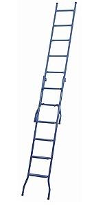 Escada Extensiva Metal 8-15 Degraus