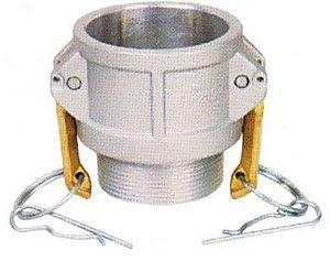 Acoplador Alumínio 4x4  fêmea/macho rosca externa