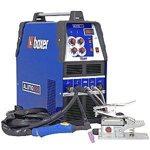 Máquina de Solda ALUTIG 200 ACDC Bivolt para Soldar Alumínio + Eletrodo - Boxer