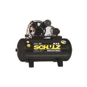 Compressor 20Pés 300Lts 175Lbs 380V 5CV MSV MAX