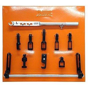 Conjunto ferramentas para comprimir molas de válvulas de motores (RAVEN 101011)