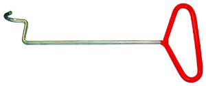 Chave gancho, para trocar os coxins de borracha (RAVEN 107001)