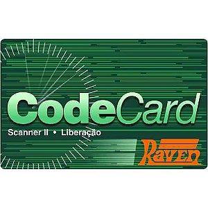 Codecard 1 liberação de licença de software (RAVEN 108620-03)