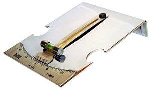 Goniômetro com 28° graus, para regular a altura do facão da suspensão traseira. (RAVEN 114097)