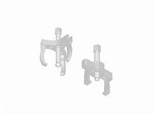 Jogo com 2 ferramentas para extrair as engrenagens do eixo. (RAVEN 122002)