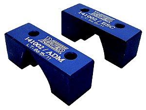 Conjunto com 2 ferramentas, para posicionar em PMS os eixos dos comandos de válvula. (RAVEN 141002)