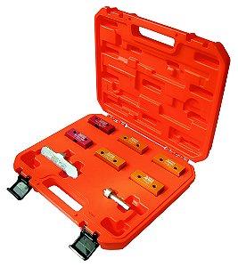 Conjunto de ferramentas para sincronismo de motores Fiat 1.8 16V e 2.0 20V. (RAVEN 141502)