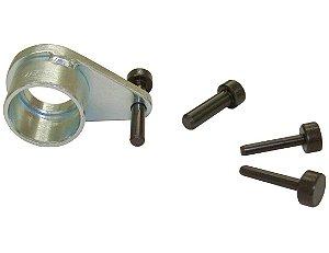 Conjunto de pinos e polia de referência, para posicionar pistões a meio curso e comando de válvulas. (RAVEN 161002)