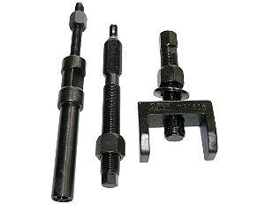 Conjunto de ferramentas para extração e instalação das camisas de cobre dos bicos injetores de motores. (RAVEN 731805)