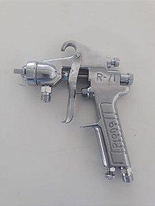 Pistola de Pintura Sucção s/caneco 1,3mm R-71