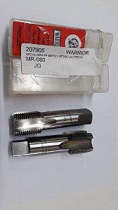 """Macho Manual BSP 1""""x11 p/tubo Aço Rápido c/ 2 peças"""