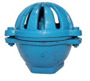 """Válvula Retenção Vertical Poço Ferro Fundido 1.1/4"""" (cebola)"""