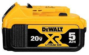 Bateria Íons Lítio 20V 5,0Ah Max DCB205-B3