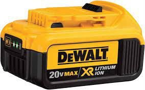 Bateria Íons Lítio 20V 4,0Ah Max XR DCB204-B3