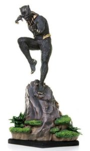 Killmonger  Filme Pantera Negra - 1/10 Art Scale Iron Studios