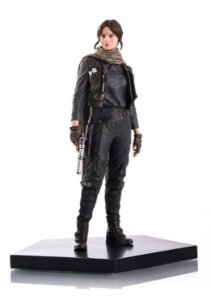 Jyn Erso Star Wars Rogue One  - 1/10 Art Scale Iron Studios